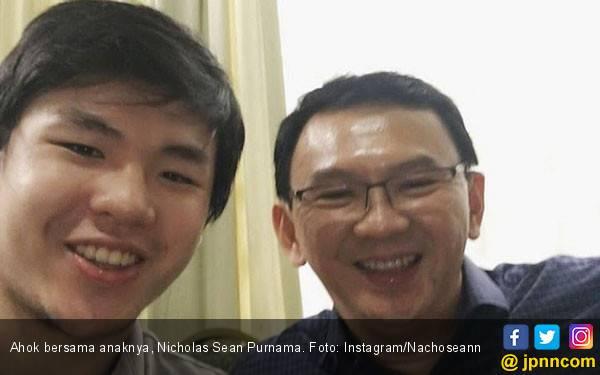 Potret Kebahagiaan Ahok Kumpul Bersama Anaknya - JPNN.com