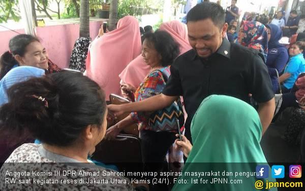 Politikus Nasdem Ahmad Sahroni: 1 Kursi Pasti Dapat - JPNN.com