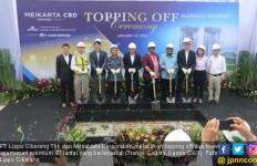 Lippo Cikarang & Mitsubishi Corporation Topping Off 2 Tower Apartemen - JPNN.com