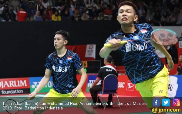8 Besar Indonesia Masters: Minions di Mata Fajar dan Rian - JPNN.com
