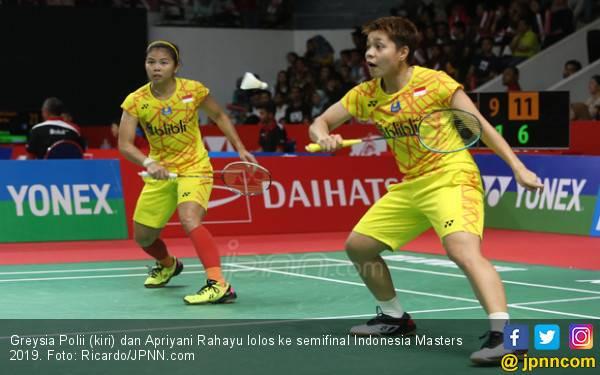 Tembus Semifinal, Greysia / Apriyani Ketemu Juara Bertahan Indonesia Masters - JPNN.com