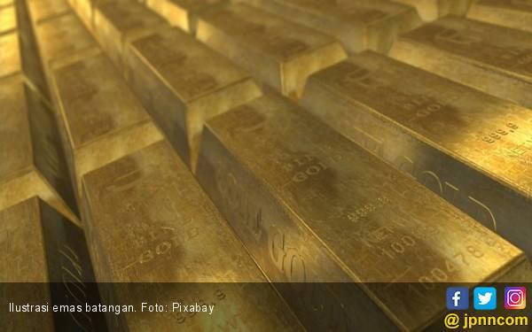 Simak! Harga Emas Antam Anjlok Hari Ini - JPNN.com