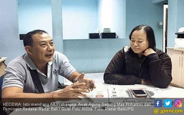 Curhat Istri Prabangsa soal Keputusan Jokowi Pangkas Hukuman Pembunuh Wartawan - JPNN.com