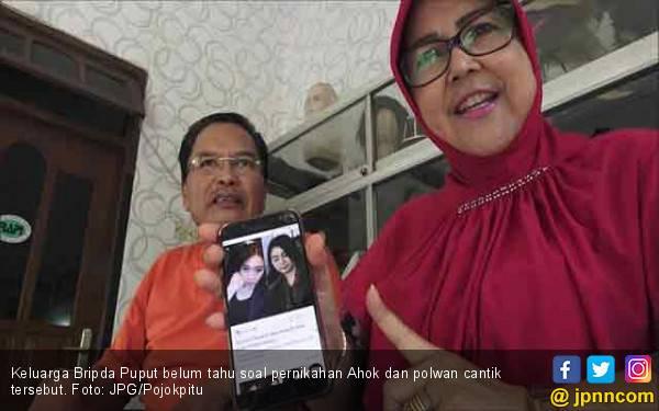 Aneh, Sebagian Keluarga Tak Tahu Soal Pernikahan Bripda Puput dan Ahok - JPNN.com