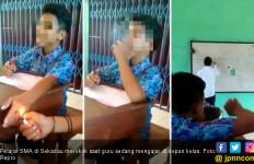 Video Viral: Siswa Merokok di Kelas saat Pak Guru Mengajar - JPNN.com