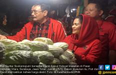 Cek Harga, Cucu Bung Karno Blusukan di Pasar Keputran - JPNN.com