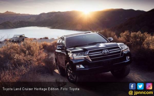 Inovasi 6 Dekade Tertuang di Toyota Land Cruiser Heritage Edition - JPNN.com