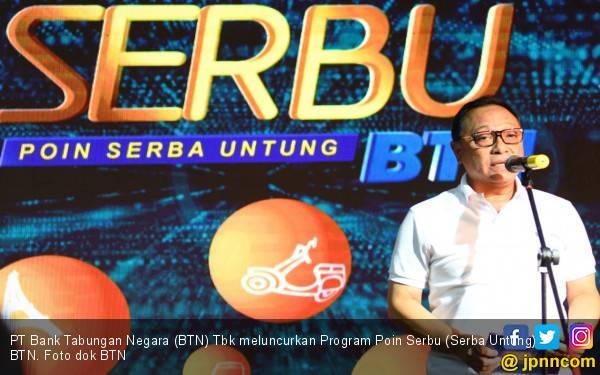 Beri Keleluasaan Bagi Nasabah, Program Poin Serbu BTN Diluncurkan - JPNN.com