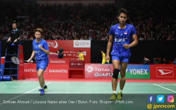 Luar Biasa Banget! Owi / Butet Tembus Final Indonesia Masters - JPNN.com