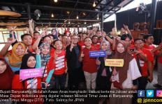 Bupati Anas Apresiasi Usaha Milenial Timur Jawa Menangkan Jokowi - JPNN.com