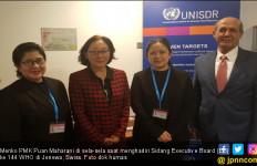 Menko Puan Tegaskan Komitmen Indonesia Realisasikan Target Dalam Sendai Framework - JPNN.com