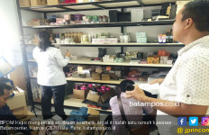BPOM Kepri Sita Ribuan Kosmetik Ilegal Senilai Rp 150 Juta - JPNN.com