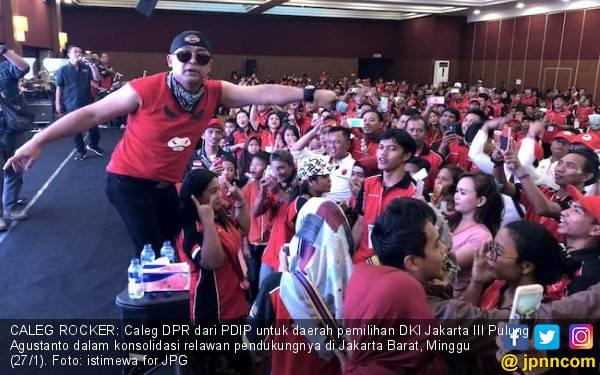 Jurus Caleg Rocker PDI Perjuangan 'Jokowikan' Penjaringan - JPNN.com
