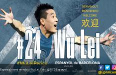 Espanyol Datangkan Wu Lei Mesin Gol Liga Tiongkok - JPNN.com