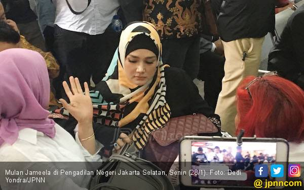 Mulan Jameela dan Al Ghazali Urung ke Komnas HAM - JPNN.com