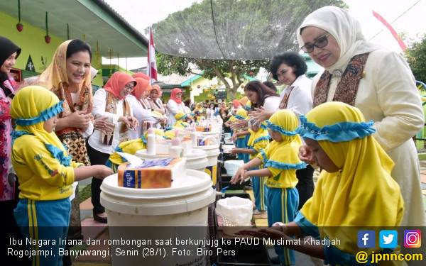 Iriana Jokowi: Semua Dapat, Tidak Boleh Berebut - JPNN.com