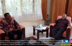 Temui Uskup Leo, Komarudin Watubun Gelorakan Semangat Kebinekaan - JPNN.com