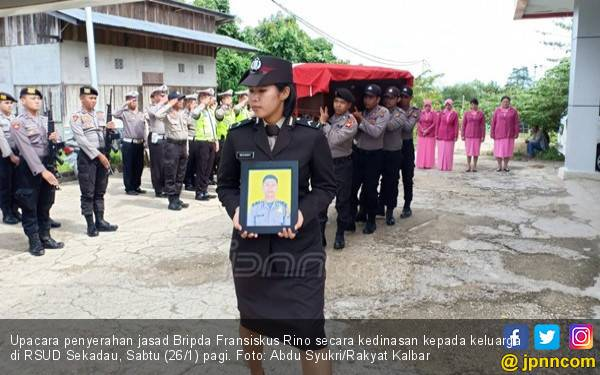 Bripda Rino Meninggal Dunia, Kami Ikut Berduka Cita - JPNN.com