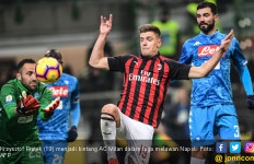Dua Gol Krzysztof Piatek Bawa AC Milan Tundukkan Napoli - JPNN.com
