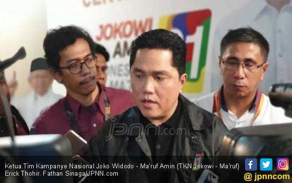 Erick Thohir Uraikan Keberhasilan Jokowi yang Nyata Dirasakan Masyarakat - JPNN.com