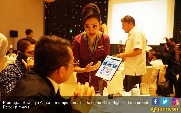 Sriwijaya Air Hadirkan SJ In-flight Entertainment di Setiap Penerbangan - JPNN.com