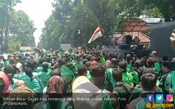 Alhamdulilah, Driver GoJek yang Ditabrak Marinir Tak Jadi Ditahan - JPNN.com