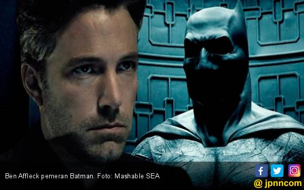Ben Affleck Tinggalkan Batman - JPNN.com