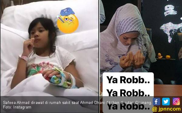 Anak Masuk Rumah Sakit, Mulan Jameela: Ya Rabb, Ya Rabb - JPNN.com