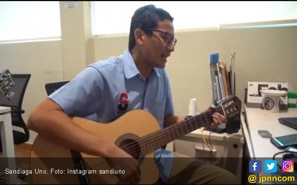 Dengar Sebuah Lagu dari Sandiaga Uno Buat Ahmad Dhani - JPNN.com
