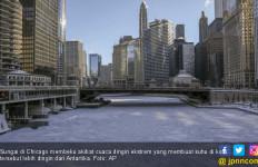 Chicago Mendadak Lebih Dingin dari Antartika, 12 Warga Tewas - JPNN.com