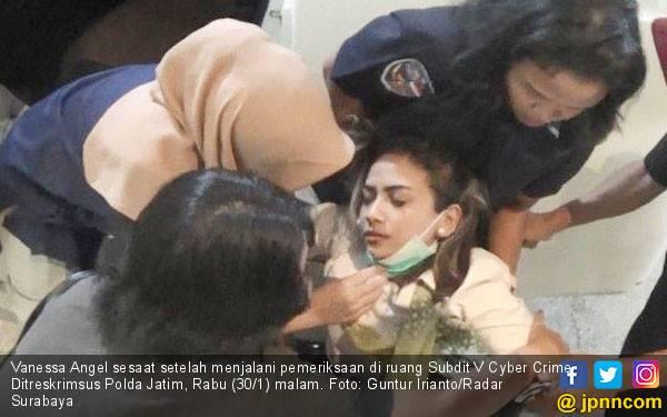 Penahanan Vanessa Angel Ditunda, Ini Alasannya - JPNN.com
