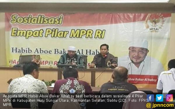 Sosialisasi 4 Pilar, Habib Aboe Ajak Masyarakat Gunakan Hak Pilih - JPNN.com