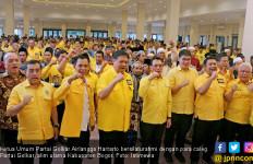 Airlangga Boyong Seluruh Ketua DPD Golkar Menghadap Jokowi di Istana - JPNN.com