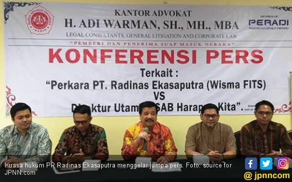 Radinas Ekasaputra Adukan Dirut RSAB Harapan Kita ke Menteri Kesehatan - JPNN.com