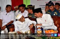 Di Depan Mbah Moen, Jokowi Bicara Cara Memilih Pemimpin - JPNN.com