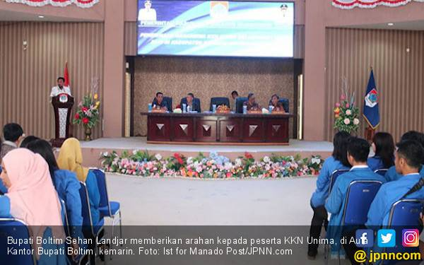 Harapan Pak Bupati kepada Mahasiswa Peserta KKN - JPNN.com