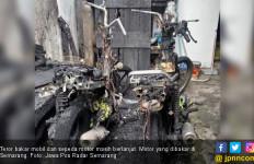 Teror Bakar Mobil dan Motor Diperkirakan Hingga Pemilu Selesai - JPNN.com