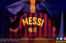 Barcelona akan Pakai Jersey Spesial di Laga El Clasico - JPNN.com