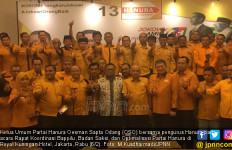 Dahysat! OSO Target Hanura Tiga Besar, Jokowi - Kiai Ma'ruf Menang - JPNN.com