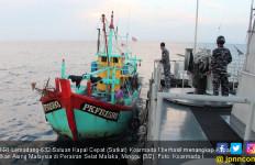 KRI Lemadang Tangkap Kapal Ikan Asing Asal Malaysia - JPNN.com
