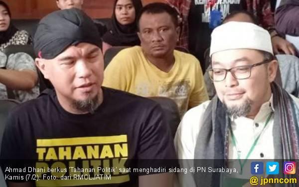 Kasus Ahmad Dhani di Surabaya Dinilai Sebagai Kriminalisasi - JPNN.com