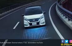 Teaser Nissan Serena Terbaru, Ikut Tren Lampu Bertumpuk - JPNN.com