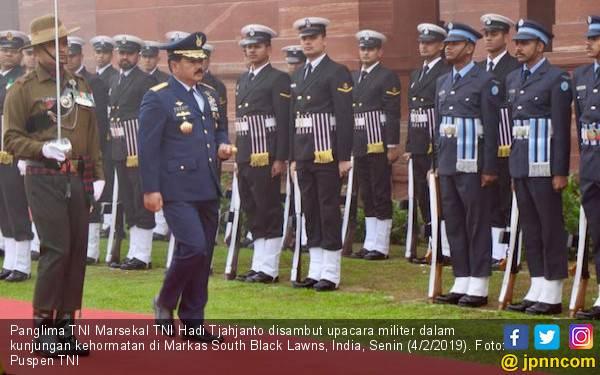 TNI dan Angkatan Bersenjata India Proyeksikan Dua Target Tercapai - JPNN.com
