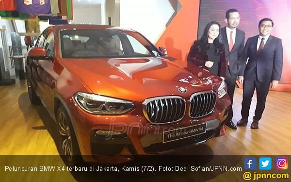 BMW X4 Terbaru Mengaspal di Indonesia Seharga Rp 1,4 Miliar - JPNN.com