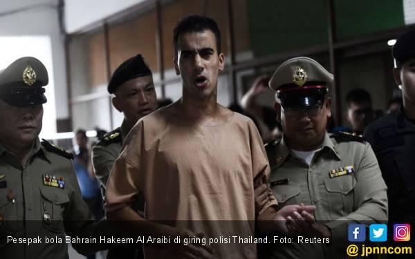 Buron Sejak 2014, Pesepak Bola Bahrain Ditangkap Thailand - JPNN.com