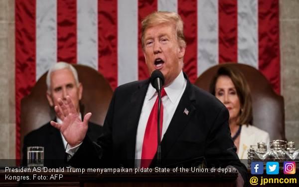 Kongres AS Sepakati Anggaran Tembok Trump - JPNN.com