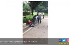 Adi si Penghancur Sepeda Motor Resmi Dijadikan Tersangka - JPNN.com