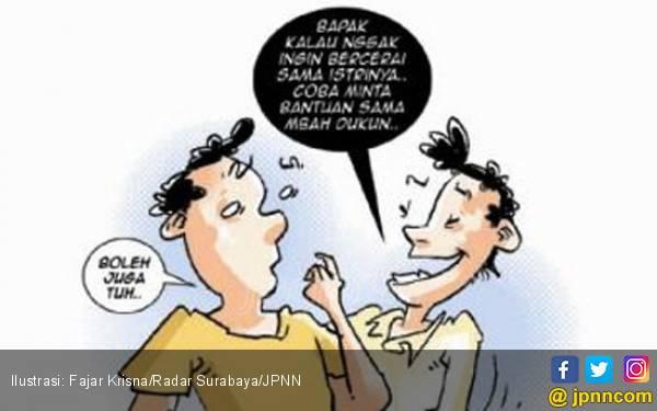 Suami Pakai Jimat dari Dukun Agar Rumah Tangganya Rukun - JPNN.com