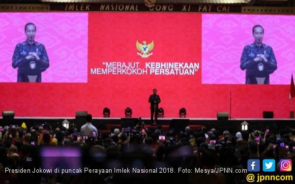 Perayaan Imlek Nasional 2019 Dihadiri Presiden Jokowi dan Bu Megawati - JPNN.com