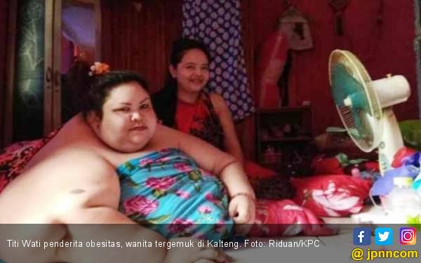 Pengin Tahu Berat Badan Penderita Obesitas Titi Wati Saat Ini? Duh… - JPNN.com
